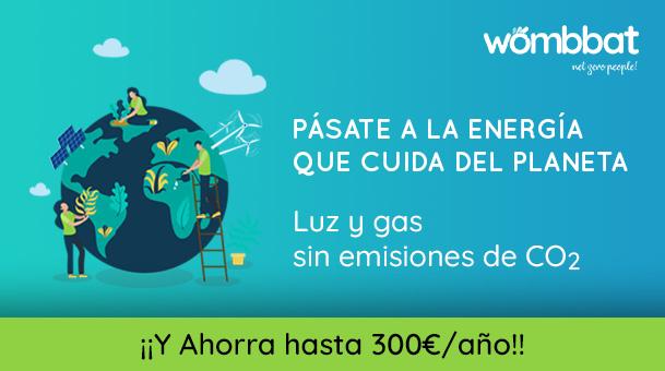 Wombat , luz y gas sin emisiones CO2