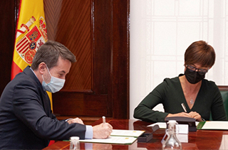 Firma acuerdo Repsol y Guardia Civil